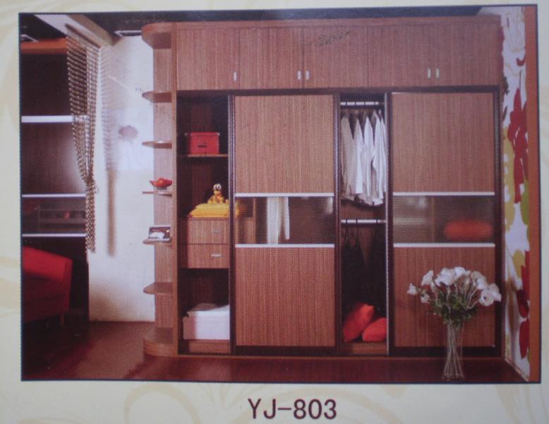 衣柜803展示,多种颜色选择